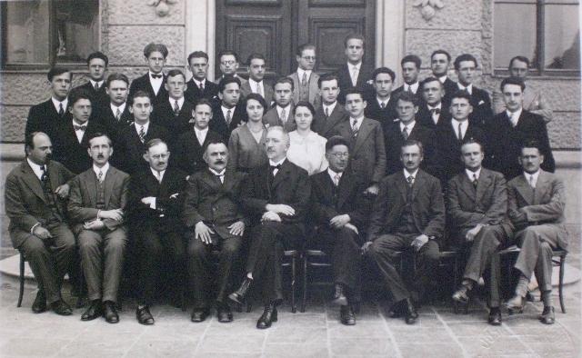 Maturantje iz leta 1929