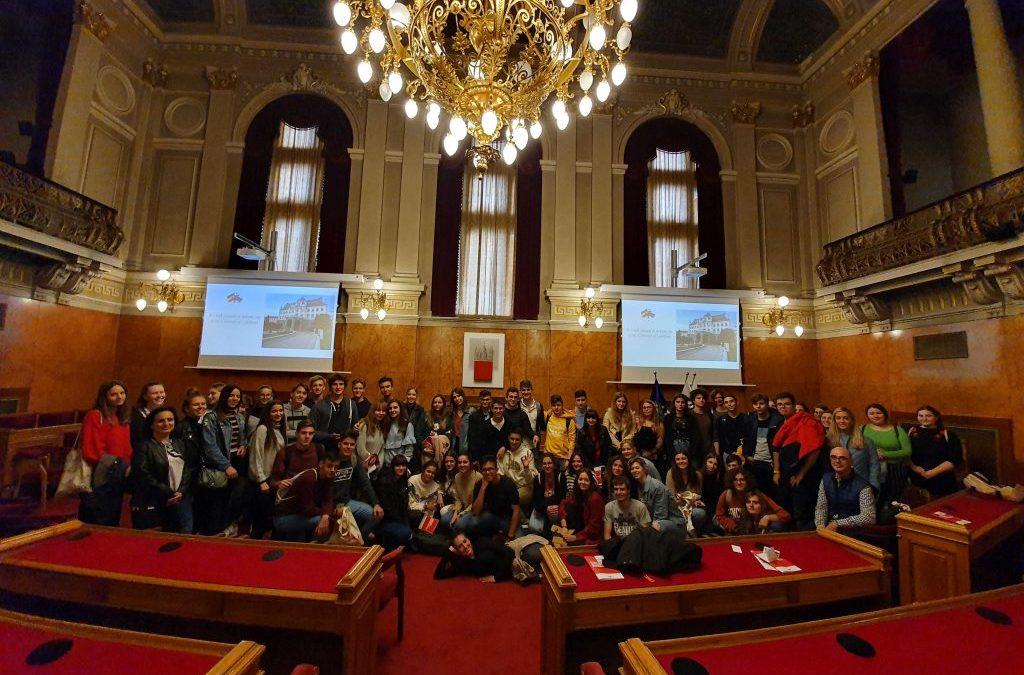 Slavnostna soba Univerze v Ljubljani – predstavitev mednarodnega sodelovanja Univerze v Ljubljani