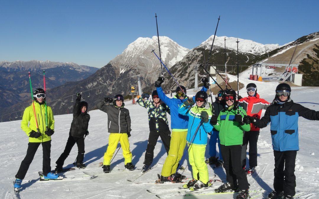 Zima + sonce + šport + poljanci = veselje